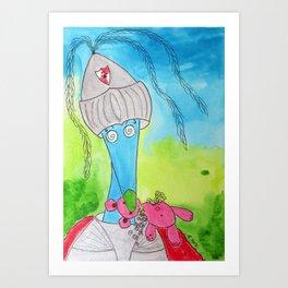 The Slayer Art Print