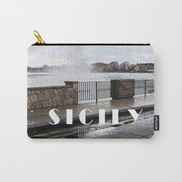 Power of Sea - Giardini Naxos - Sicily Carry-All Pouch