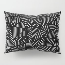 Abstraction Linear Pillow Sham