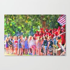 Graduation Song Canvas Print