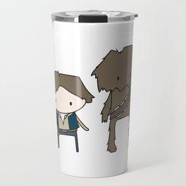 Han Solo & Chewie Travel Mug