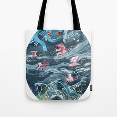 Water Gods Tote Bag