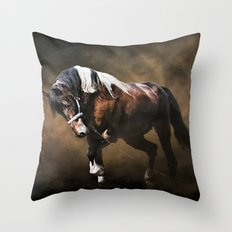 The Restless Gypsy Throw Pillow