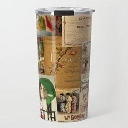 Vintage Opera Travel Mug