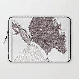 Eric Dolphy Jazz Portait Laptop Sleeve