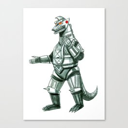 Mecha Godzilla Canvas Print
