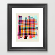 Fragments IX Framed Art Print