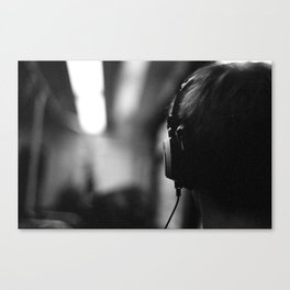 Headphones Canvas Print