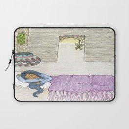 Sleeping Girl Laptop Sleeve