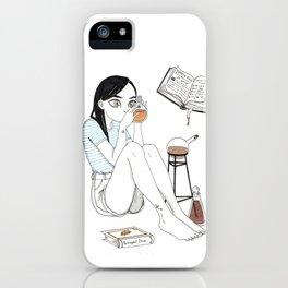 Inktober / alchemist iPhone Case