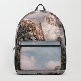 Yosemite Snow Capped Half Dome Backpack