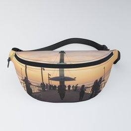 Brighton Jetty Sunset Fanny Pack