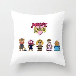 Moffat Babies  Throw Pillow