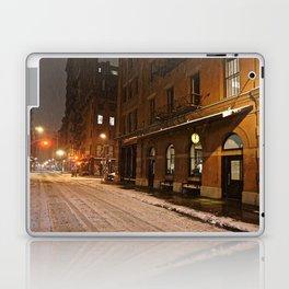 New York after a snowstorm Laptop & iPad Skin