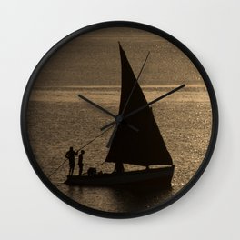 Morning on the Indian Ocean Wall Clock