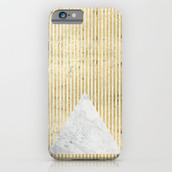inverse trian gold iPhone & iPod Case