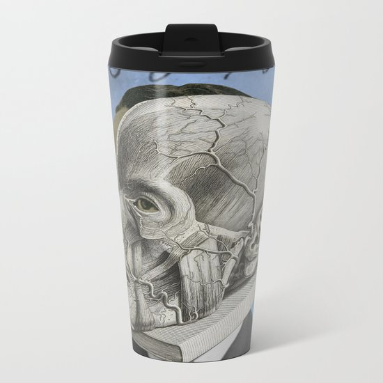 THREE THREE NINE EIGHT Metal Travel Mug