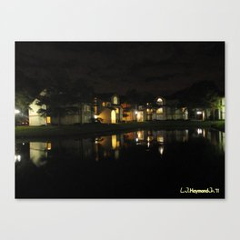 Swamped Night Canvas Print