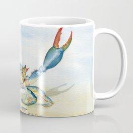 Colorful Blue Crab Coffee Mug