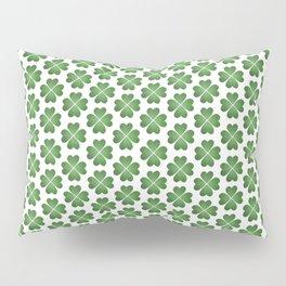 Hearts Clover Pattern Pillow Sham
