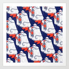 Nuno Pattern Art Print