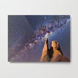 Night sky iii - galaxy Metal Print