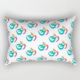 Colorful Om Rectangular Pillow