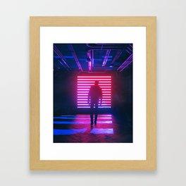 DIVIDE BY ZERO (everyday 07.16.18) Framed Art Print