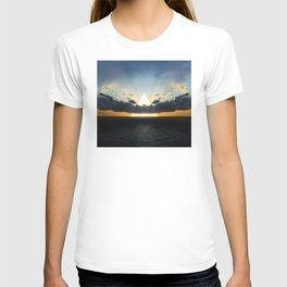 Abstract Environment 03: Volcano T-shirt
