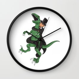 Lincoln jiu jitsu Wall Clock