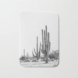 DESERT CACTUS XVII / Baja, Mexico Bath Mat