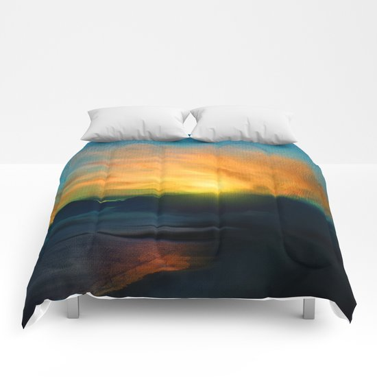 In the sunrise Comforters