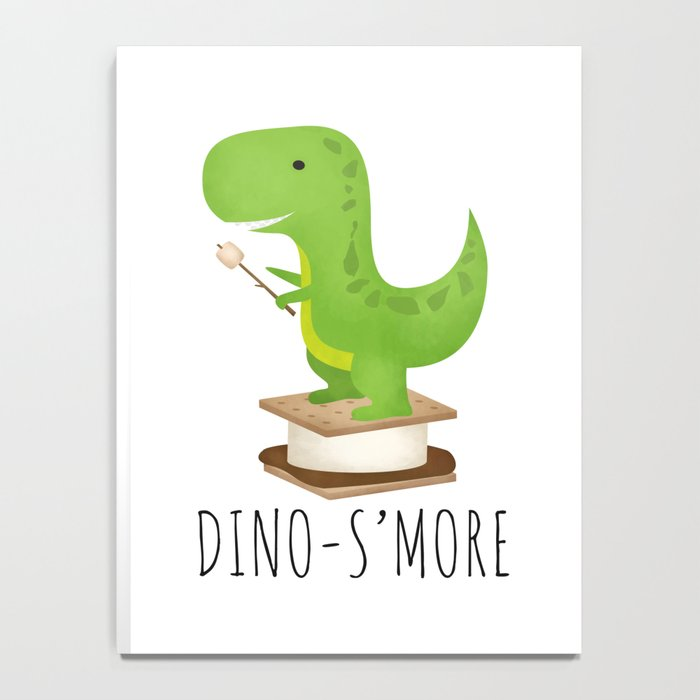 Dino-S'more Notebook