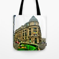brussels Tote Bags featuring Brussels by haroulita
