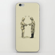 Pleased To Meet You iPhone & iPod Skin