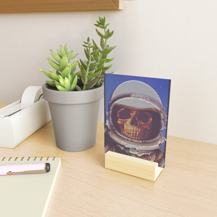 At A Certain Distance In space Or Time Mini Art Print