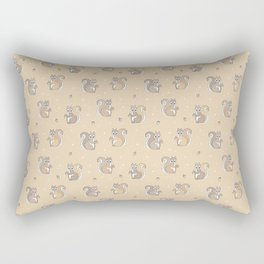 Cute Squirrel Rectangular Pillow