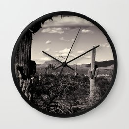 Wild Wild West Wall Clock