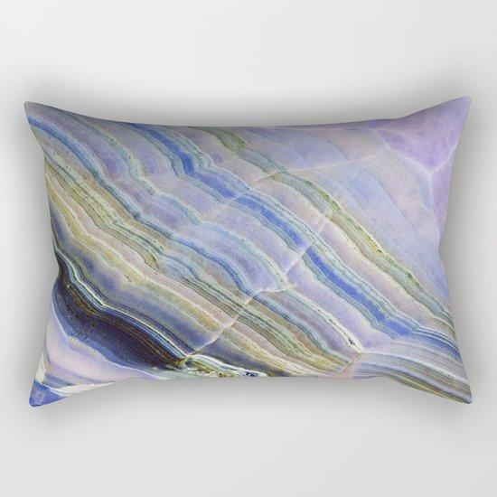 Pastel Onyx Marble II Rectangular Pillow
