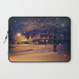 White Christmas Laptop Sleeve
