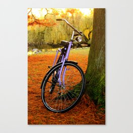 Vondelpark in the Fall pt 2 Canvas Print