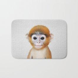 Baby Monkey - Colorful Bath Mat