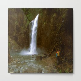 Franklin Falls Metal Print