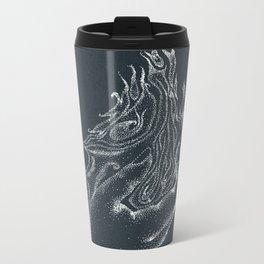 Fire starter -inverted color Metal Travel Mug