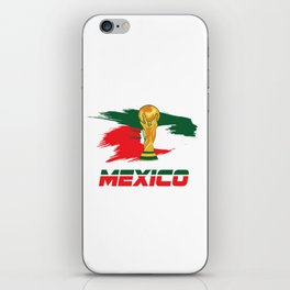 World cup mexico iPhone Skin