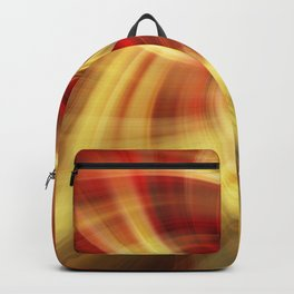Red and Yellow Twirl Backpack