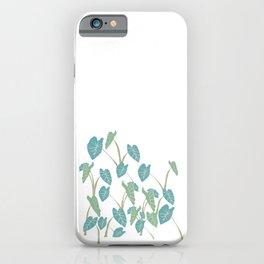 taro leaf hawaii iPhone Case