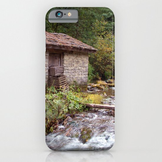 Stone Building by River near Chame iPhone & iPod Case