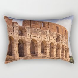 The Colosseum Rectangular Pillow