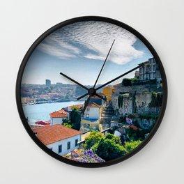 Porto, Portugal Wall Clock